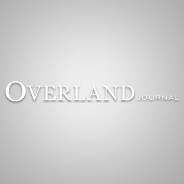 Overland Journal Die-Cut Decal
