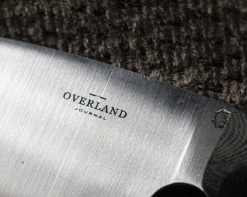 Overland Journal L.T. Wright Camp Kitchen Knife