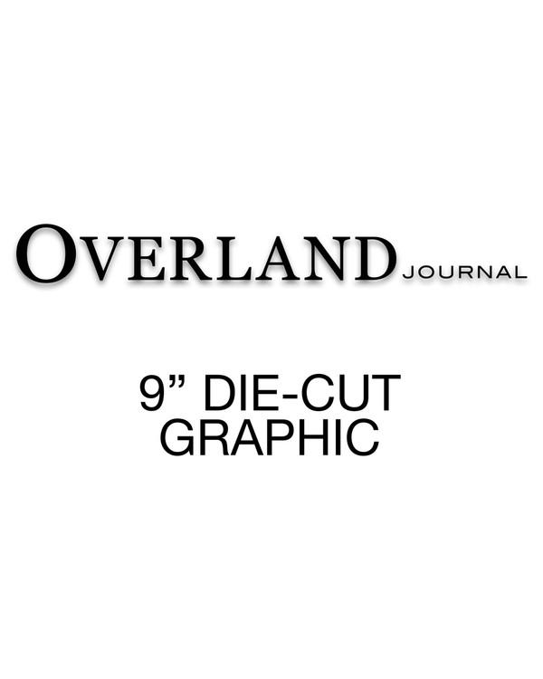 Overland Journal Die-Cut Decal