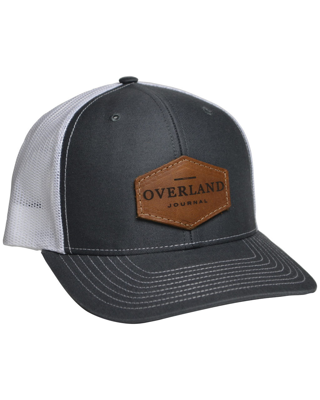 Overland Journal Hat with Leather Patch - Overland Journal 1ac093bc9f5