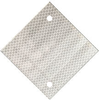 "4"" X 4"" WHITE HIP/ALUMINUM DIAMOND SHAPED POST REFLECTOR"