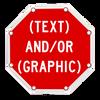 custom octagon sign