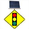 Flashing LED W3-3 Signal Ahead Sign