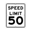 R2-1 Speed Limit Sign