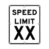 R2-1 Speed Limit Sign