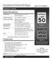 Regulatory Sign Spec Sheet 2