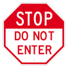 Custom Octagon Stop Sign - Example 1