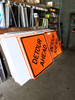 Temporary Work Zone Signs