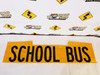 BLACK AND YELLOW HIGH INTENSITY PRISMATIC SCHOOL BUS DECALS