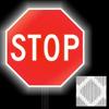 DIAMOND GRADE STOP SIGN