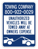 Towing Sign #3