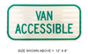 R7-8A Van Accessible Sign