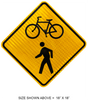 W11-15 Bicycle/Pedestrian