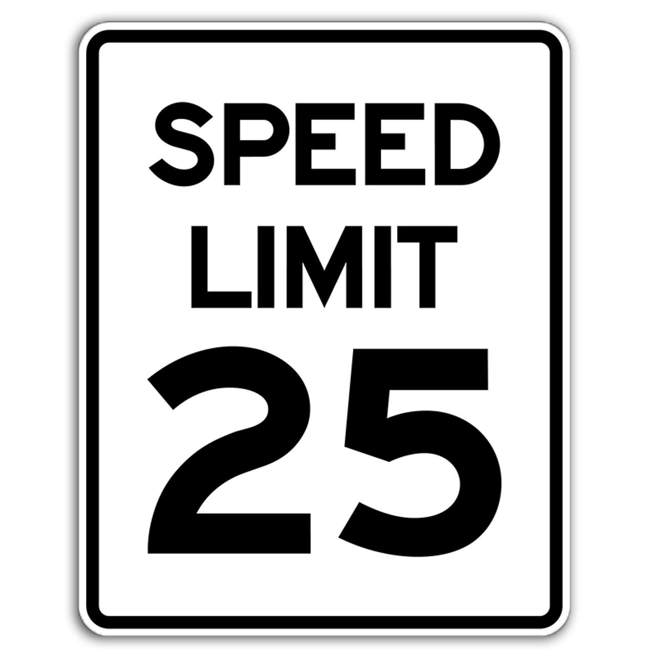 speed limit signs dornbos sign safety inc