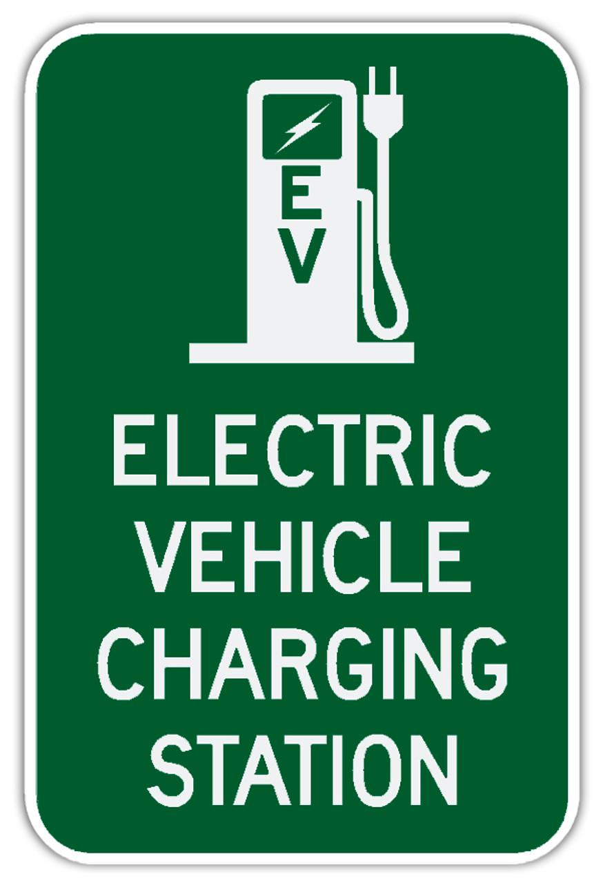 Ev Charging Sign Charging Station Sign Ev Signage
