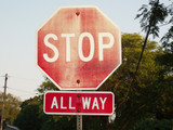 You Need to Replace Your Road Signs if They Look Like This...