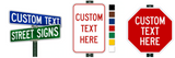 Are your custom street name signs MUTCD and FHWA compliant?