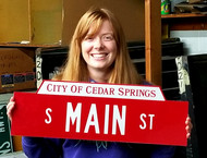 Custom Street Name Signs for your Downtown District