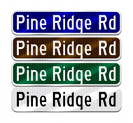 How Are Colors for Street and Road Signs Chosen?