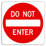 "The Importance of ""Do Not Enter"" Signs"
