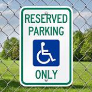 Handicap Sign Distributor for Commercial Parking Lots