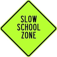 High Visibility School Zone Sign Vendor