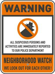 Do Neighborhood Watch Surveillance Signs Really Keep Criminals Away?