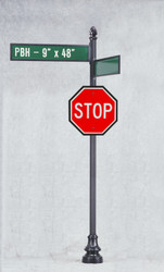 How Decorative Street Sign Posts and Brackets Can Beautify Your Streets