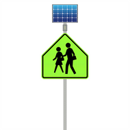 What Are Solar LED Signs?