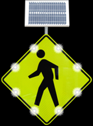 Which Signs Can You Use to Increase Pedestrian Crosswalk Safety?