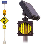 LED FLASHING SOLAR BEACONS