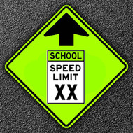 Why School Zone Signs are Yellow-Green