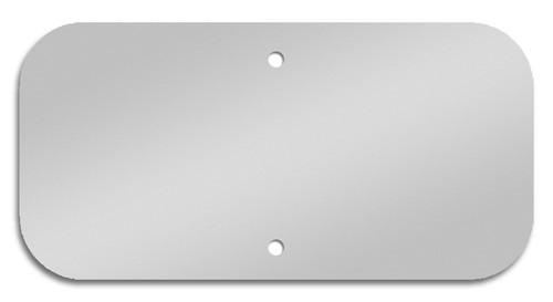 "12"" x 6"" Aluminum Blanks, Sign blanks"