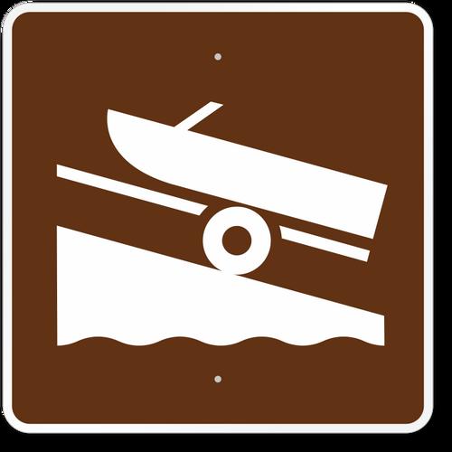 Boat Launch Symbol