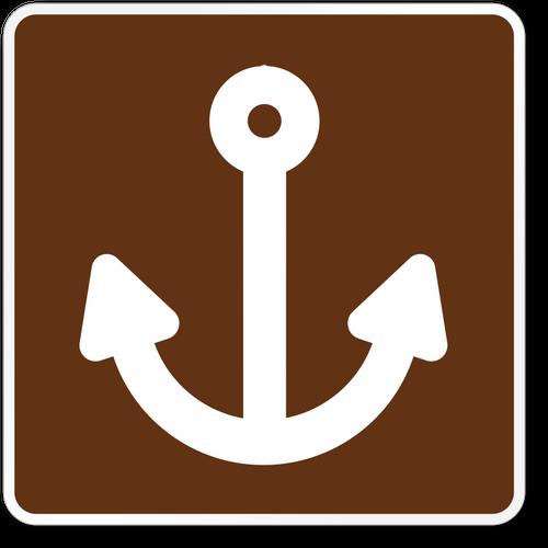 Marina Symbol Sign