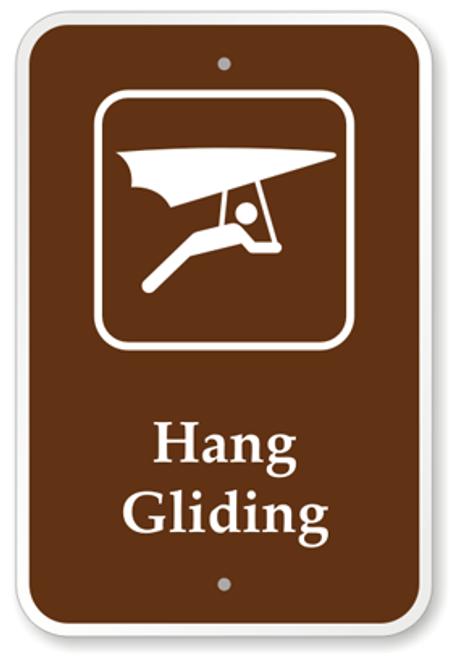Hang Gliding Sign