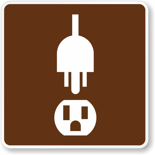 Electric Site Sign