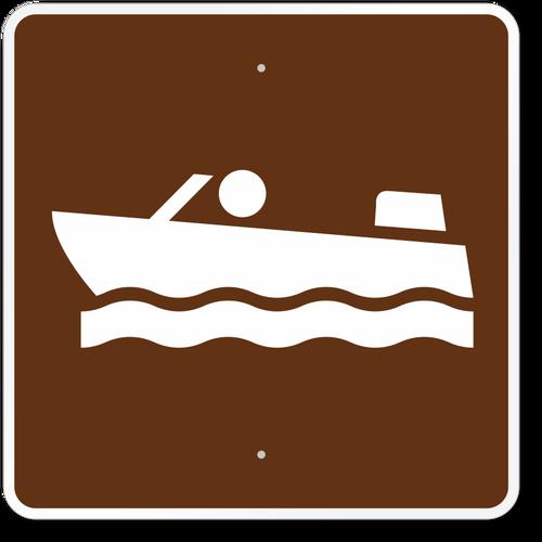Motor Boating Sign