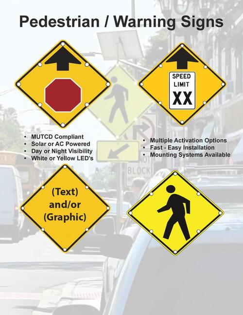 Flashing Led Custom School Zone Sign Dornbos Sign Safety Inc