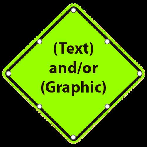 Custom School Zone Sign