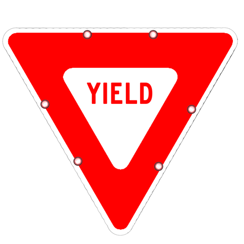R1-2 Yield Sign