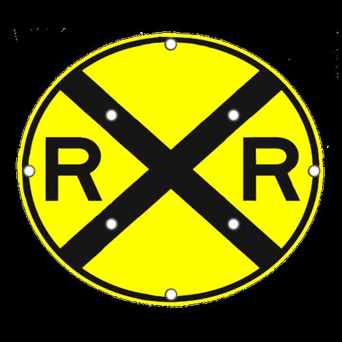 W10-1 Railroad Advance Warning Sign
