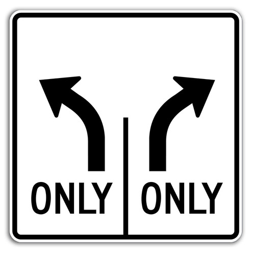 R3-8LR Left Only Right Only