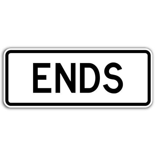 R3-17B Ends Sign