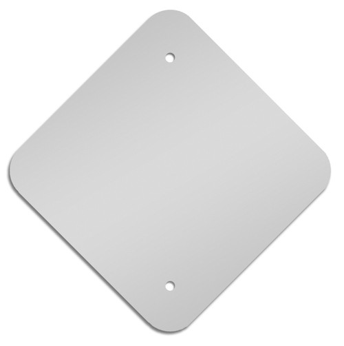 "18"" x 18"" Aluminum Blanks Sign Blank"