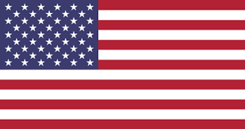 AMERICAN FLAG DECAL RED WHITE AND BLUE