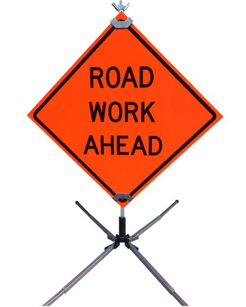 Lightweight Intepro Temporary Workzone Signs