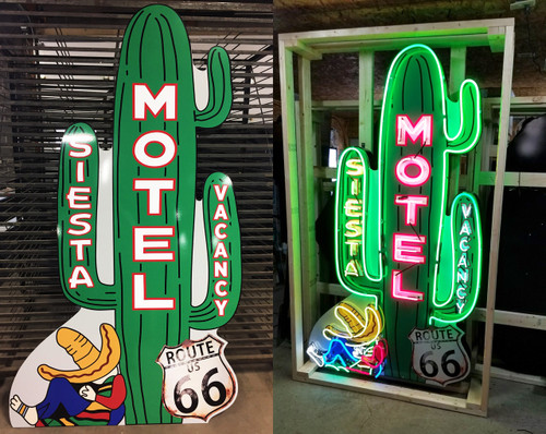 Motel Siesta Sign
