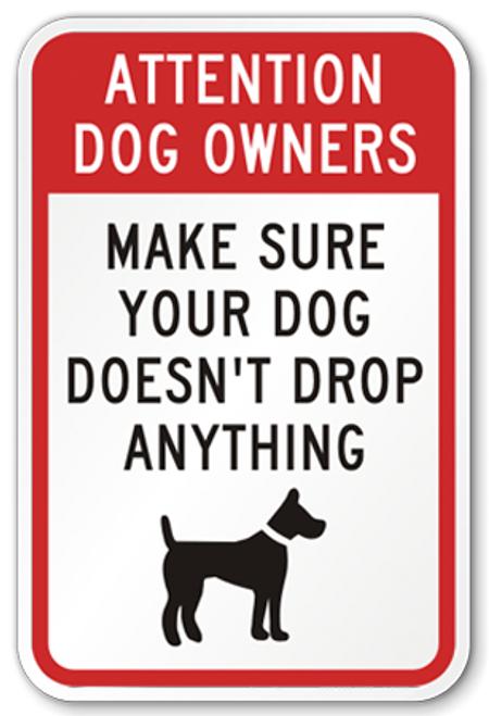 Dog Waste Sign