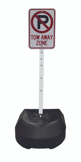 ROCK-IT 24 BLACK SIGN BASE